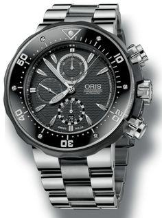 Oris ProDiver 51mm Chronograph diving watch