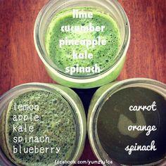 juice recipes (juice fast day 5)