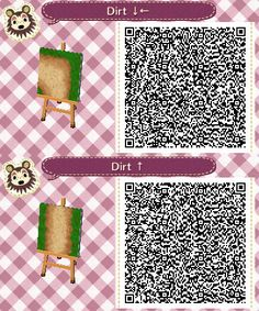 acnl dirt path SET#6- vert. and upper left corner