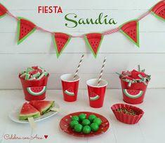Celebra con Ana | Compartiendo experiencias creativas: Fiesta Sandía (Sandi-Fiesta)