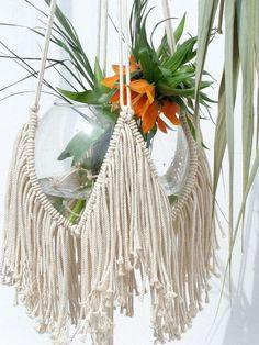 Vintage Macrame Plant Hanger Ideas 76