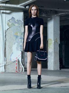 vogue-is-viral: Rianne van Rompaey for Versace Pre-Fall 2016