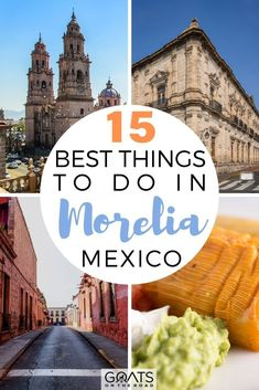Heading to one of the beautiful cities in Mexico? Here are the 15 best things to do in Morelia, which is also a UNESCO-listed Mexican city. See the beautiful cathedral, learn about Mexican Independence at the Museo Casa de Morelos, visit a butterfly sanctuary, indulge your sweet tooth at the Candy Museum, and more! | #bestofmexico #travel #wanderlust Cozumel, Puerto Vallarta, Mexico Vacation Destinations, Travel Destinations, Merida Mexico, South Korea Travel, World Travel Guide, México City, California