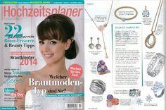 Klassische Diamantanhänger von RenéSim als luxuriöser Brautschmuck