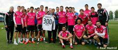 Celebración de gol 300 de CR7 con el Real Madrid