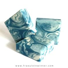 """Stormy Sea"". Handmade soap by мисс зима."
