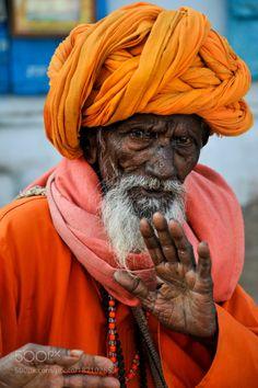 Sadhu Pushkar by ValdasPhotoTrips  portrait travel sadhu street photography India Rajasthan Pushkar ValdasPhotoTrips