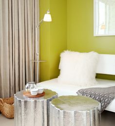 chartreuse accent wall - Google Search