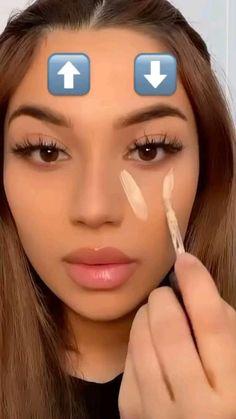 Edgy Makeup, Eye Makeup Art, Contour Makeup, Skin Makeup, Eyeshadow Makeup, Disney Eye Makeup, Nose Contouring, Drugstore Makeup Dupes, Glamour Makeup