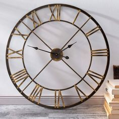 Wanduhr Factory 120cm #kare #kare_austria #wanduhr #uhr #clock ...