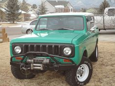 International Harvester : Scout Scout II