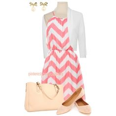"""Kate Spade & Chevron Stripes"" by casuality on Polyvore"