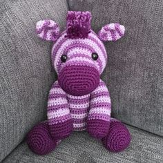 Zane the Zebra Amigurumi Pattern