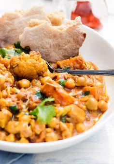 przepis na warzywne curry