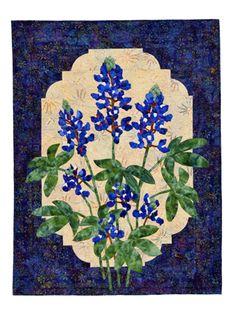 Blue Bonnet quilt pattern