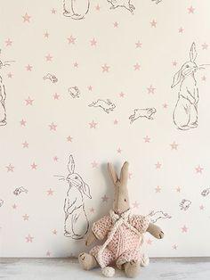 peony and sage wallpaper | Rabbit All Star wallpaper | Peony & Sage