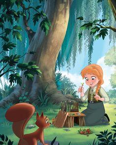Disney Princess Frozen, Baby Disney, Disney Love, Cute Disney Pictures, Art Pictures, Art Pics, Jelsa, Disney Fan Art, Disney Pixar