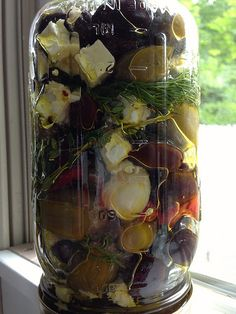 Recipe: Make Your Own Marinated Olives and Feta