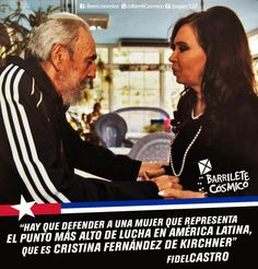 Fidel Castro, Líder histórico de la #RevoluciónCubana. #Cuba #CFK #Cristina…