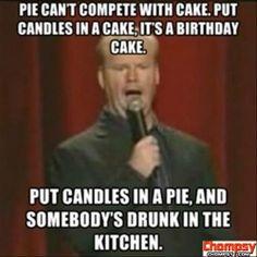 pie vs cake funny quotes