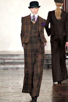 Ralph Lauren Fall 2012 Ready-to-Wear Fashion Show - Mila Krasnoiarova