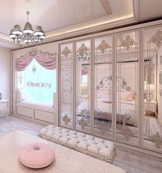 Luxury Bedroom Design, Girl Bedroom Designs, Girls Bedroom, Bedroom Closets, Master Bedrooms, Dream Rooms, Dream Bedroom, Room Decor Bedroom, Bed Room