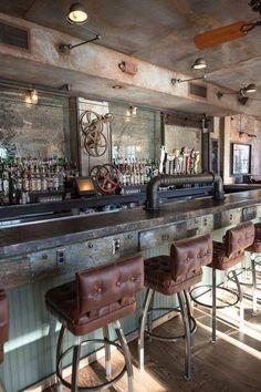 What do you think of this bar design Steampunk Tendencies?   Restaurant bar #design awards 2014 #Steampunk