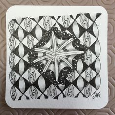 https://flic.kr/p/wxacQN | Square One: Purely Zentangle FB page - Eye-Wa