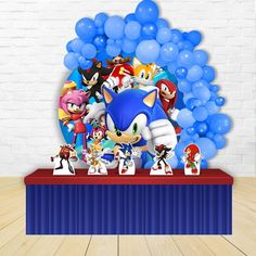 Sonic Birthday Cake, Sonic Birthday Parties, Sonic Party, Diy Birthday, Hedgehog Birthday, Dinosaur Birthday, Toddler Arts And Crafts, Xmas Elf, Video Game Party