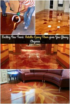 Exciting New Trend: Metallic Epoxy Floor gives You Glossy Elegance!