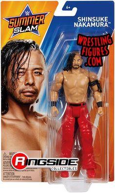 WWE AJ Styles Red Raw Basic Series 85 MATTEL Action Wrestling Figure NXT Gants