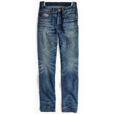 MADEWELL Rivet & Thread Rigid Skinny Jeans: Step-Waist Edition ($198) ❤ liked on Polyvore featuring jeans, martinez, stretchy skinny jeans, denim skinny jeans, stretch skinny jeans, embroidered jeans and embroidered skinny jeans