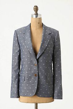 ANTHROPOLOGIE Nightscape Blazer
