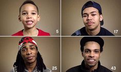 From brave to brutal and evil... Black men and boys sum up the POLICE