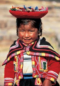 HERMOSA NIÑA DEL PERÚ-native peruvian little girl