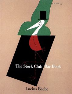 Paul Rand bookcover design for bar book