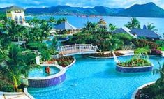 Sandals in St. Lucia is opening the first Caribbean over water bungalow suites in February 2013!!! Sign me up!