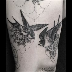 Fresh WTFDotworkTattoo Find Fresh from the Web Dotbirds for Rebecca ! #dotwork…