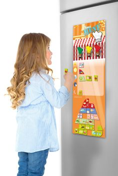 Magnetic Charts · Healthy Eating