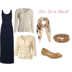 """""""Spring/Fall Church Outfit Idea"""" by hem-of-his-garment-ministries on Polyvore #modest #outfit #idea"""