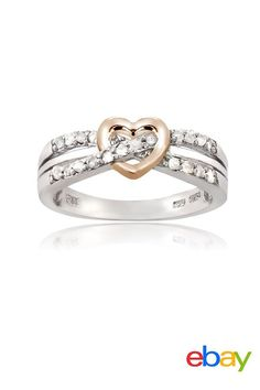 Show your love with a beautiful sterling silver promise ring, perfect for her birthday or special occasions. Its simple, heart-shaped design and diamond sparkle are a lovely reminder of how much you care and days still ahead to come in your relationship.