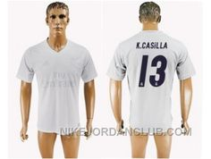 http://www.nikejordanclub.com/real-madrid-13-kcasilla-marine-environmental-protection-home-soccer-club-jersey-kbypt.html REAL MADRID #13 K.CASILLA MARINE ENVIRONMENTAL PROTECTION HOME SOCCER CLUB JERSEY KBYPT Only $20.00 , Free Shipping!