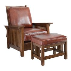 Morris Chair - Bassett Furniture.  These are so comfortable for a tall guy.