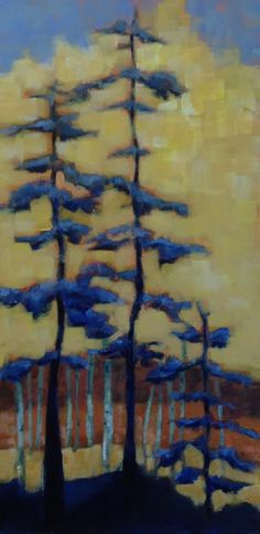Janet Bradish Studios: A Trip off the Back Forty and Something New Something New, Studios, Trees, Painting, Art, Art Background, Tree Structure, Painting Art, Kunst
