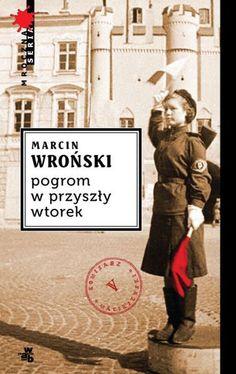 """""""Pogrom w przyszły wtorek"""" to kolejny kryminał retro Marcina Wrońskiego, piąty z cyklu o lubelskim komisarzu przedwojennej policji Zygmuncie """"Zydze"""" Maciejewskim. Jest wrzesień 1945 r. Miesiące brutalnych przesłuchań nie złamały twardego gliny. ..Zobacz na: http://www.culture.pl/baza-literatura-pelna-tresc/-/eo_event_asset_publisher/k3Ps/content/culture-pl-poleca%3A-ksiazki-na-lato"""