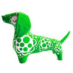 PaaPii Design - Raksu koira, vihreä