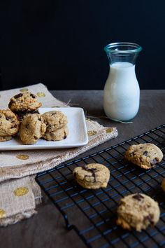 Coconut Banana Chocolate Chip /  #glutenfree #paleo