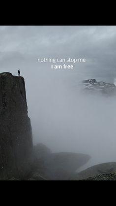 I am free! to live u soon!