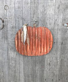 Rustic Tin Pumpkin decor rustic fall decor Tin pumpkins
