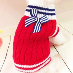 100% Cotton Sweater Knitwear for Dogs